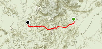 Dodson Ranch Trail Map