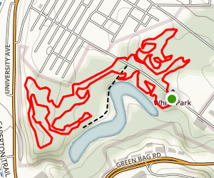 White Park Trails Map