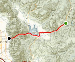 Ogden River Scenic Byway Map