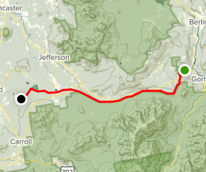 Presidential Range Rail Trail Map