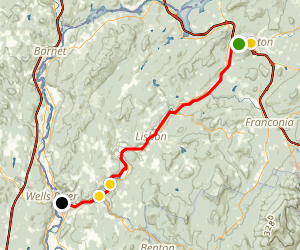 Ammonoosuc Rail Trail Map