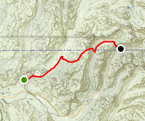 Bliss Pass Trail Map