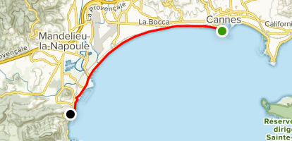 Tour de la Côte Map