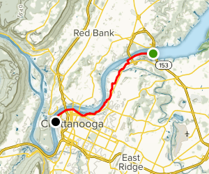 The Tennessee Riverwalk Map