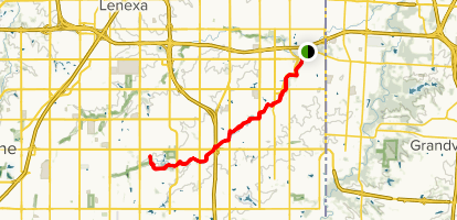 Tomahawk Creek Trail Map