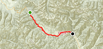 Harriman Trail Map
