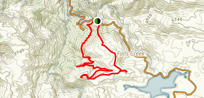 Mount McKay Circuit Map