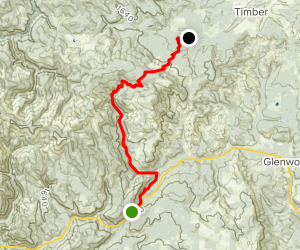 Gales Creek Trail Map