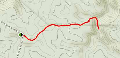 Parker Falls Trail Map