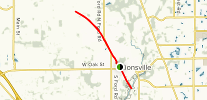 Zionsville Rail to Trail Map