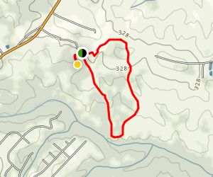 Anderson Creek Loop Map