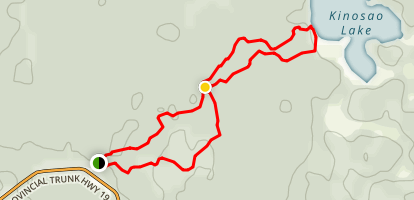 Brule Trail Map