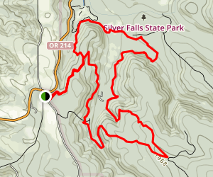 Smith Creek Loop Map