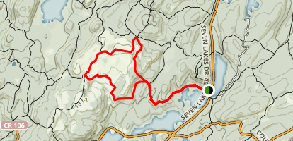 Long Path, Dunning, Ramapo-Dunderberg Loop Map