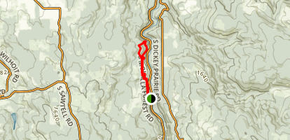 Lower Molalla River Trails Loop Map