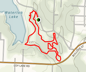 Cave Trail Map