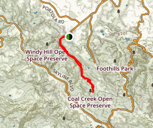 Eagle Trail and Alpine Road Map
