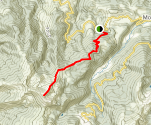 Mount Fourcat Map
