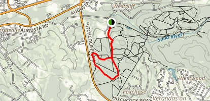 Juac Hollow Line Trail Map
