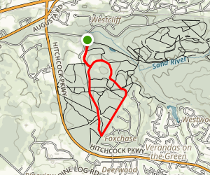 High Point Line and Mr. Cooper's Ride Trail Map