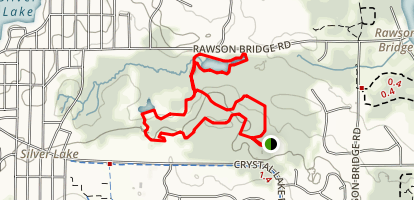 Fel-Pro-RRR Conservation Area Loop Map
