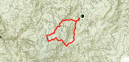 Reavis Gap Loop Map