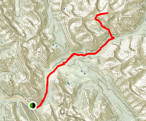 Banded Peak Trail Map