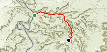 Taylor Canyon Trail Map