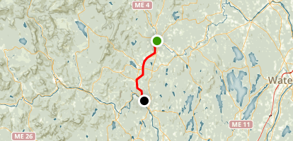 Whistle Stop Trail Map