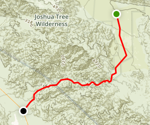 Berdoo Canyon Trail Map