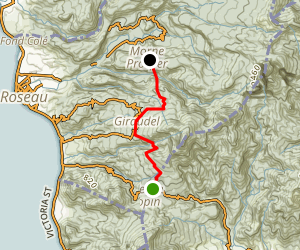 Waitukubulu Trail Section 3 Map