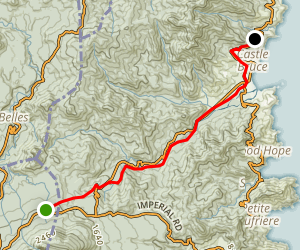 Waitukubulu Trail Section 5 Map