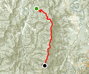 Black Mountain Crest Trail Map