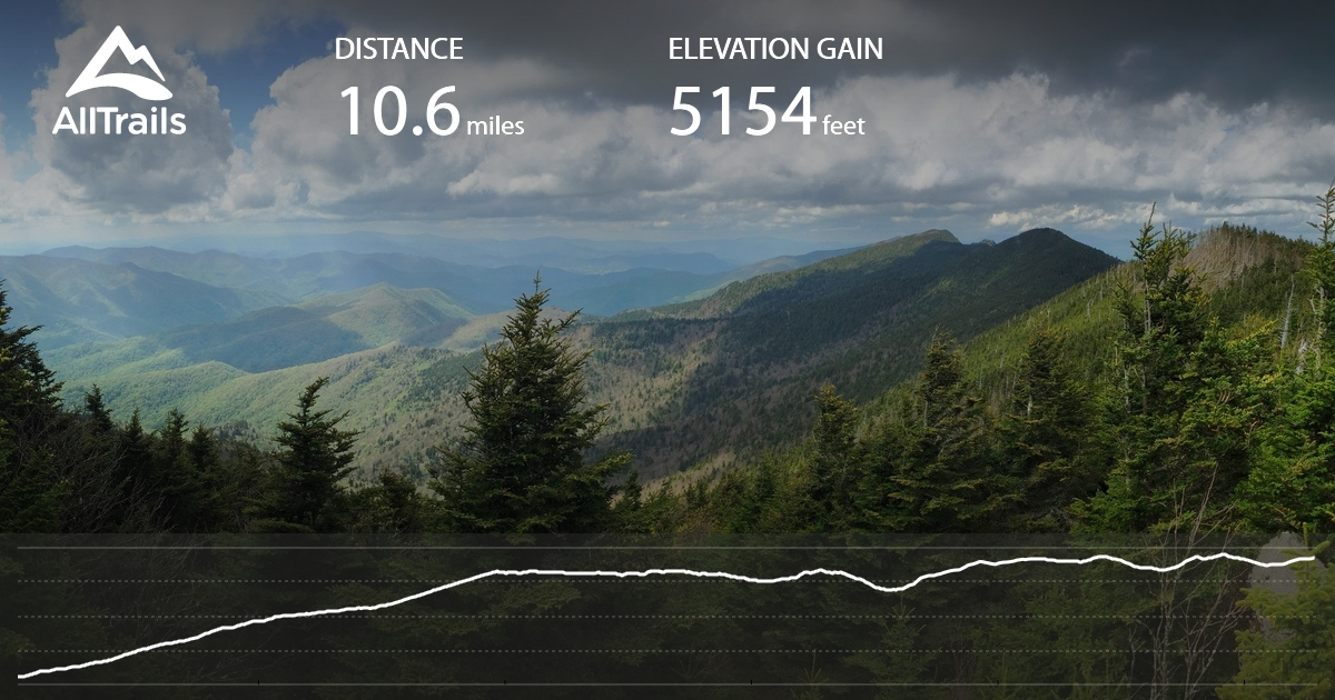 Stone Mountain Nc Elevation Gain : Black mountain crest trail north carolina alltrails