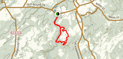 Black River Trail Loop Map