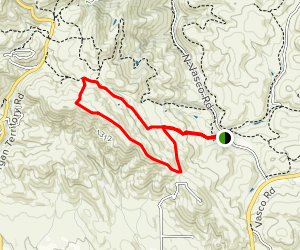 Black Hills and Valley View Trail Map