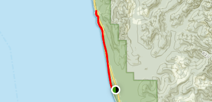 Kalaloch to Browns Point Trail Map