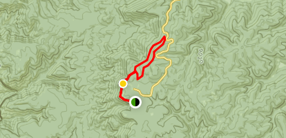 Sunspot Trail to Cathy Canyon and Rim Trail Loop Map