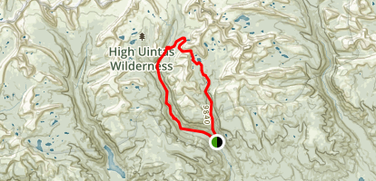 Milk and Farmers Lakes Trail Map