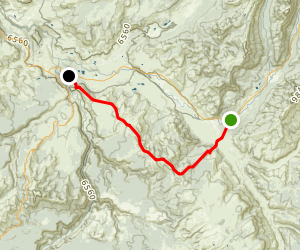 Specimen Ridge Trail Map