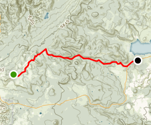 Right Fork of Bunker Creek Map