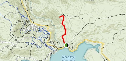 Roper Lookout Map