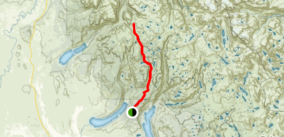 Palmer Lake Trail Map