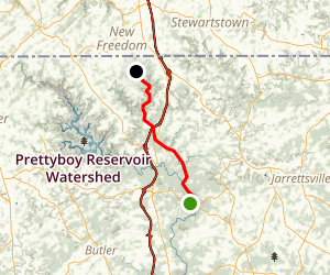 Big Gunpowder Falls River Trail Map