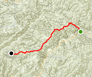 Twin Rocks Trail Map