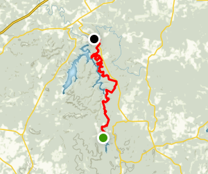 Pennyrile Forest Trail Map