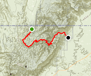McKittrick Ridge Map