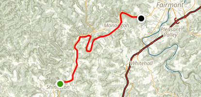 West Fork River Trail Map