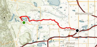 Ralston Creek Trail Map
