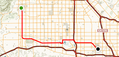 Orange Line Busway Bike Path Trail Map